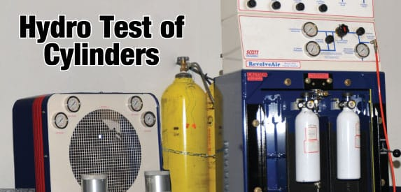 Hydro Test Cylinders